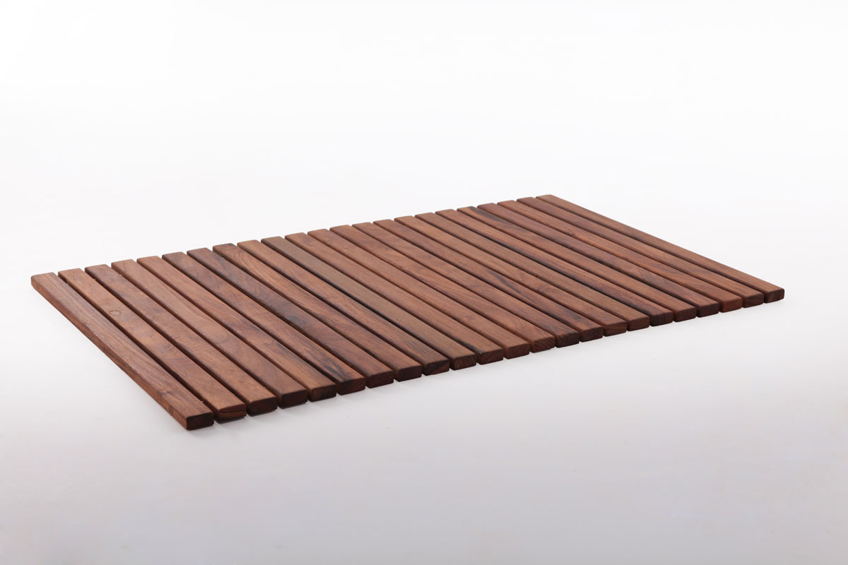 "Teak String Tile 19.6"" X 31.4"" ( Slats 19.6"" In )"